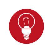 Lampe design — Stockvektor