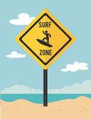 Surf tasarım — Stok Vektör