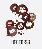 Tecnologia design — Vetorial Stock