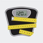 Measure design  — Stock Vector