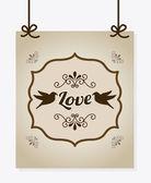 Love design — Stock Vector