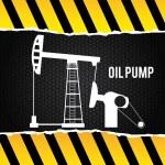 Oil pump — Stock Vector #48966055