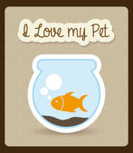 Pets design — Stockvector