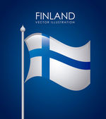 Finland design — Stock Vector