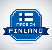 Finland design — Stock Vector