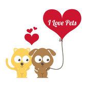 Pets design  — Vecteur