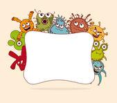 Bacteria design — Stock Vector