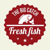 Conception de poisson — Vecteur