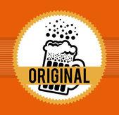Beer design — Stock Vector