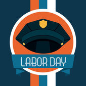 Labor day design — Stock Vector