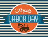 Labor day design — Stock Vector