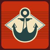 Marine design — Stock Vector