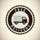 Delivery design  — Stock Vector