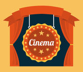 Kino-design — Stockvektor