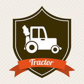 Tractor   design — Stock Vector