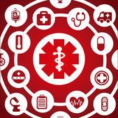 Medical design — Stock Vector
