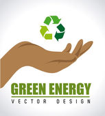Energy design — Stock Vector