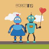 机器人的设计 — 图库矢量图片