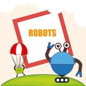 Progettazione robot — Vettoriale Stock