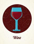 Wine design — 图库矢量图片