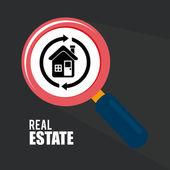 房地产设计 — 图库矢量图片