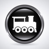 Train design — Stock Vector