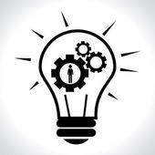 Bulb design — Stockvektor