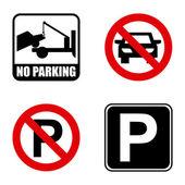 Parkering signal — Stockvektor