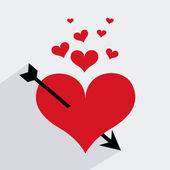 Love design card — Stock Vector