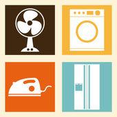 Appliances design — Stock Vector