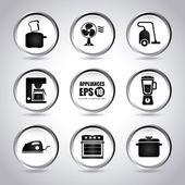 Appliances design — Stockvektor