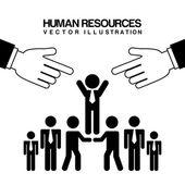Risorse umane — Vettoriale Stock