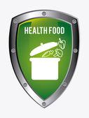 自然のデザイン健康食品 — ストックベクタ