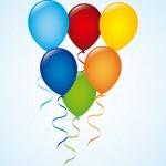 Balloons design — Stock Vector #50918835