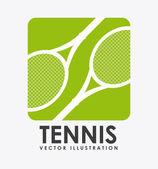 Conception de tennis — Vecteur