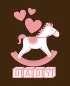 Baby design — Stockvektor