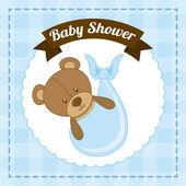 Conception bébé — Vecteur