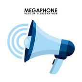 Megaphone design  — Stock Vector