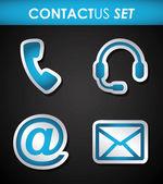 Kommunikationsdesign — Stockvektor
