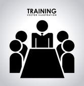 Training design  — Stockvektor