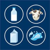 Milk design  — Stock Vector