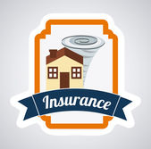 Insurance design   — Stock Vector