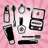 Makeup design — Vecteur