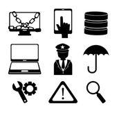 проектирование безопасности — Cтоковый вектор