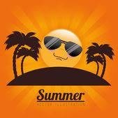 Sommar design — Stockvektor