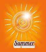 Projeto de verão — Vetorial Stock