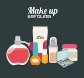 Cosmetics design  — Stockvector
