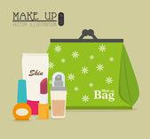 Cosmetics design  — Vector de stock