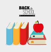 Volver a la escuela de diseño — Vector de stock