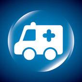Ambulance  — Stock Vector